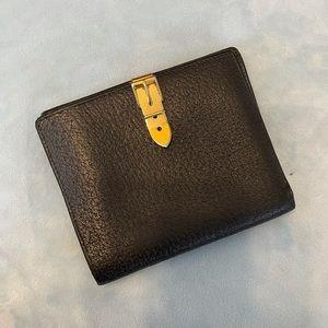 Gucci Black fold wallet